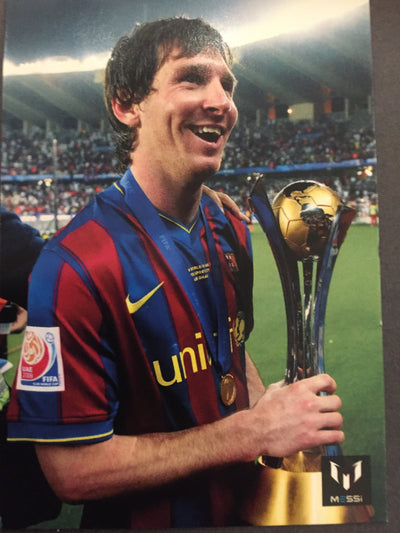 021. OFFICIAL MESSI CARD COLLECTION