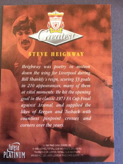 018. Steve Heighway - Greatest - Liverpool