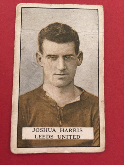 JOUSHA HARRIS - LEEDS UNITED - GALLAHER 1925
