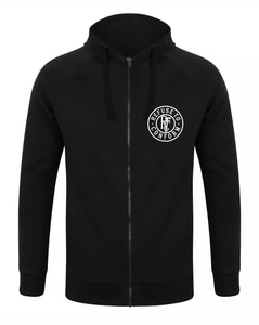 Slim Fit Zip-Through Hoodie