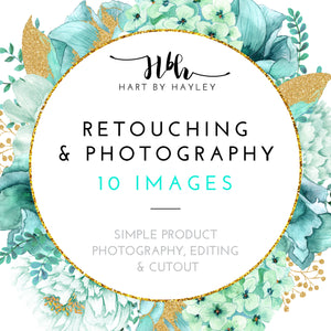 Retouching & photography for 10 images