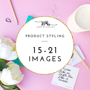 Product styling for 15-21 images