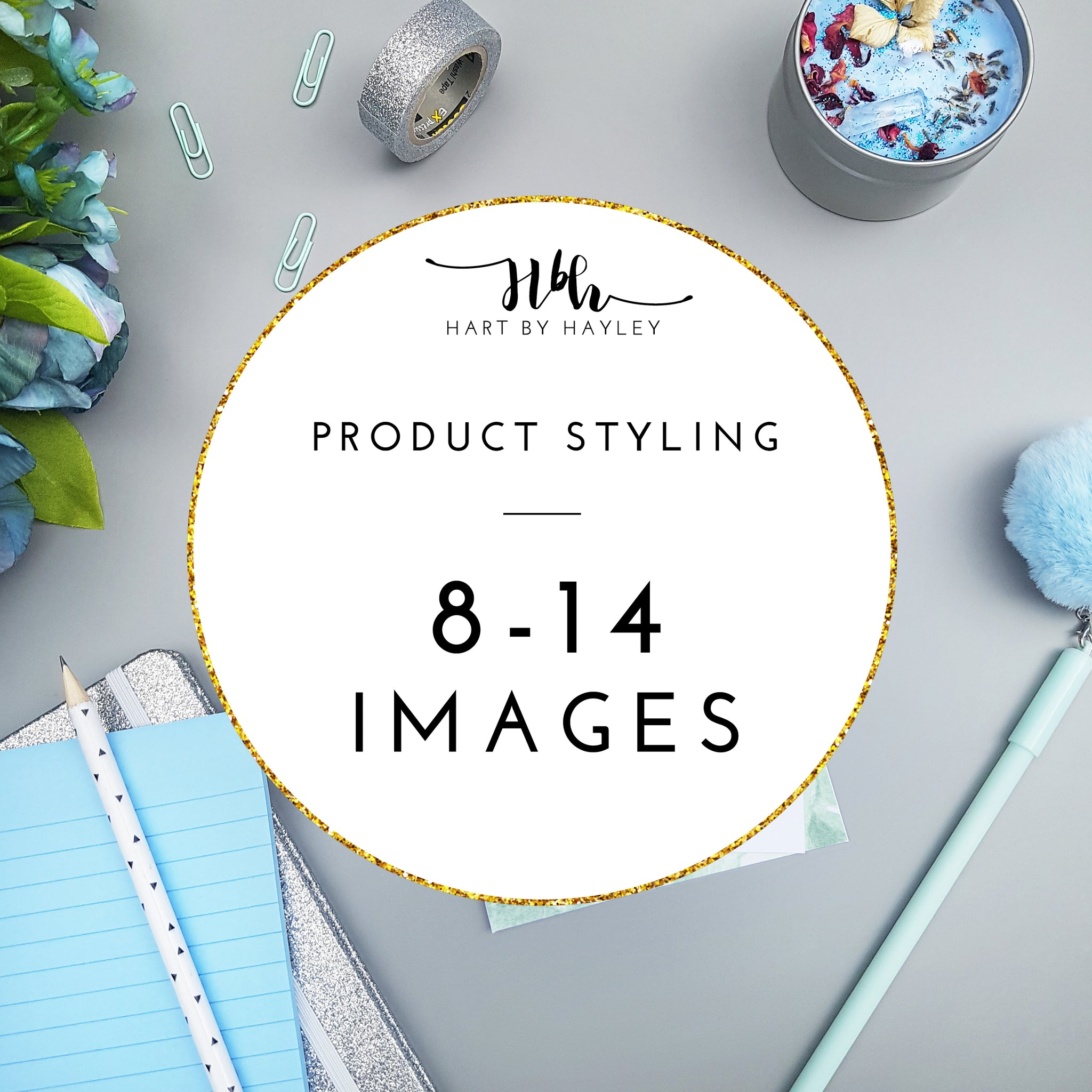 Product styling for 8-14 images