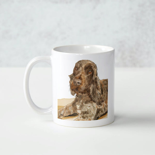 pet digital illustration mug