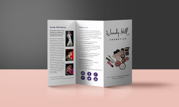 brochure graphic design hart by hayley New zealand