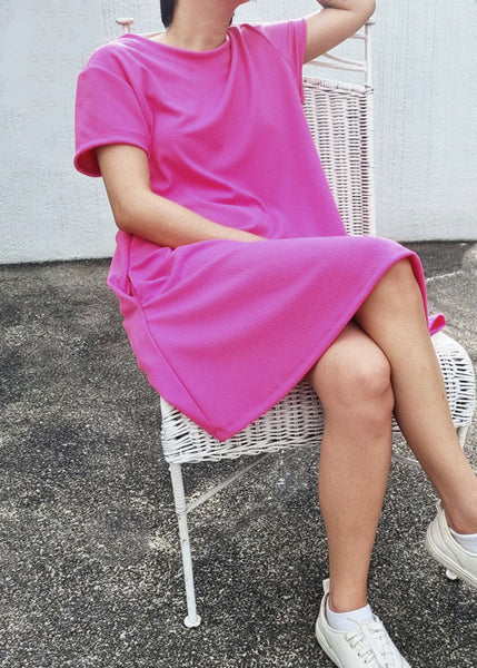 Lazy Shirt Dress