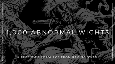 1,000 Abnormal Wights