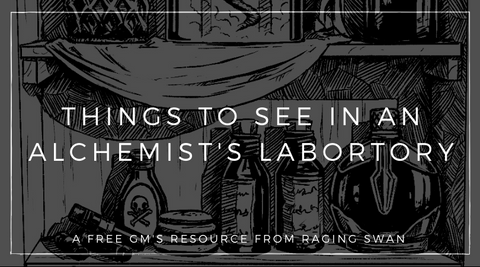 10 Things to See in an Alchemist's Laboratory