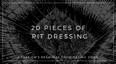 20 Pieces of Pit Dressing