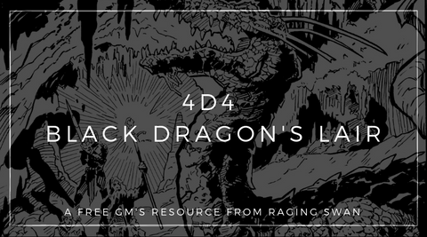 4d4 Black Dragon's Lair