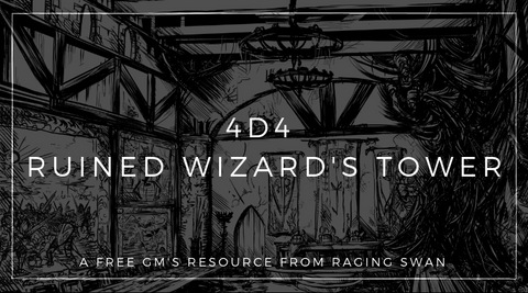 4d4 Ruined Wizard's Tower