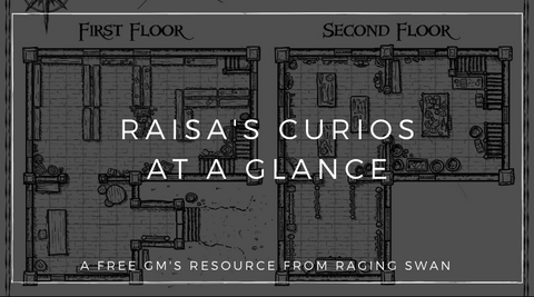 Raisa's Curios at a Glance