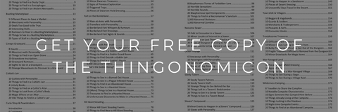 Get Your Free Copy of The Thingonomicon