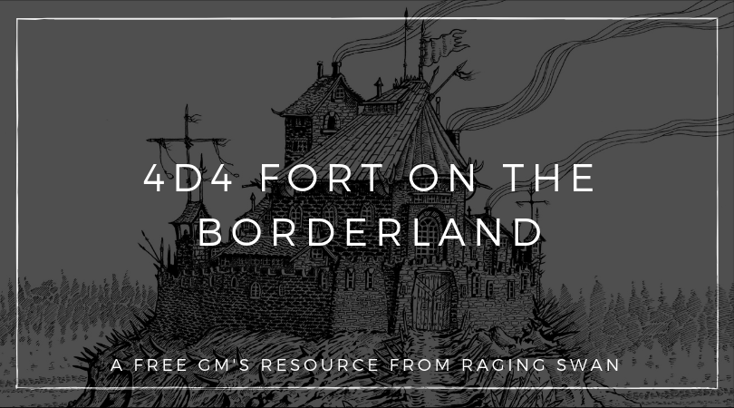 4d4 Fort on the Borderland