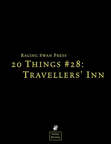 20 Things #28: Traveller' Inn