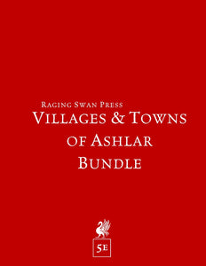 Villages & Towns of Ashlar Bundle (5e Edition)