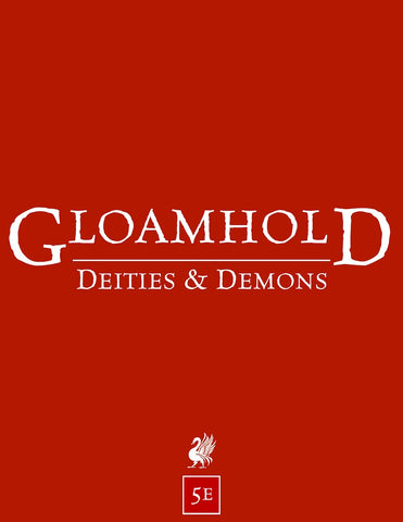 Deities & Demons (5e Edition)