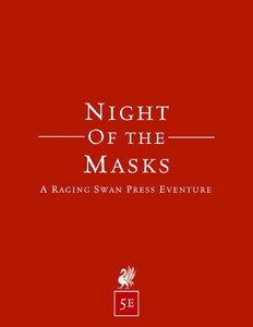 Night of the Masks (5e)