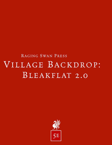 Village Backdrop: Bleakflat 2.0 (5e)