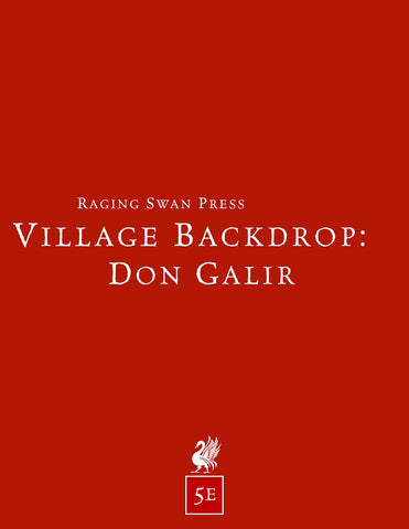 Village Backdrop: Don Galir (5e)