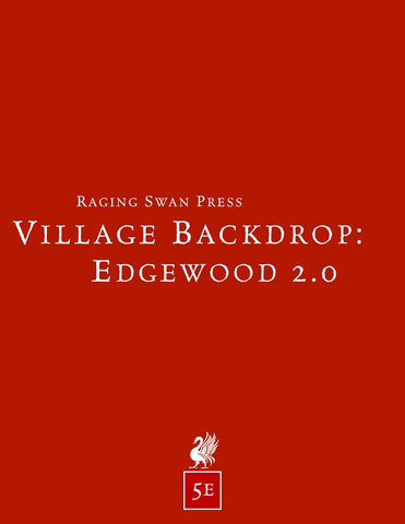Village Backdrop: Edgewood 2.0 (5e)
