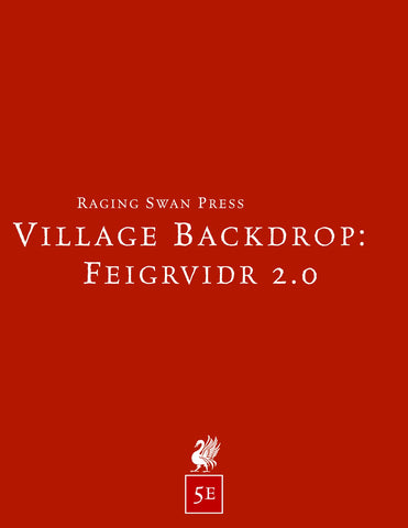 Village Backdrop: Feigrvidr 2.0 (5e)