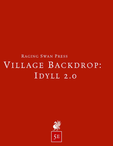Village Backdrop: Idyll 2.0 (5e)