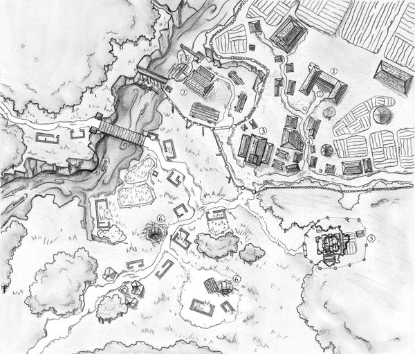 Village Backdrop: Ashford (5e)