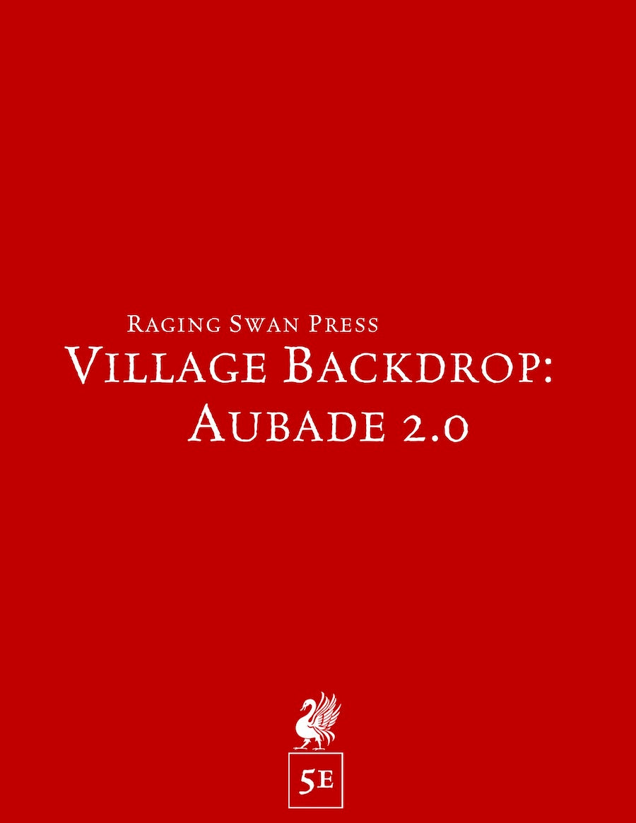 Village Backdrop: Aubade 2.0 (5e)
