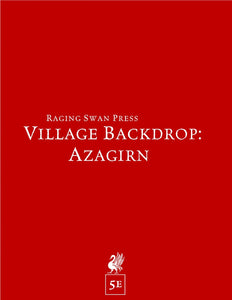 Village Backdrop: Azagirn (5e)
