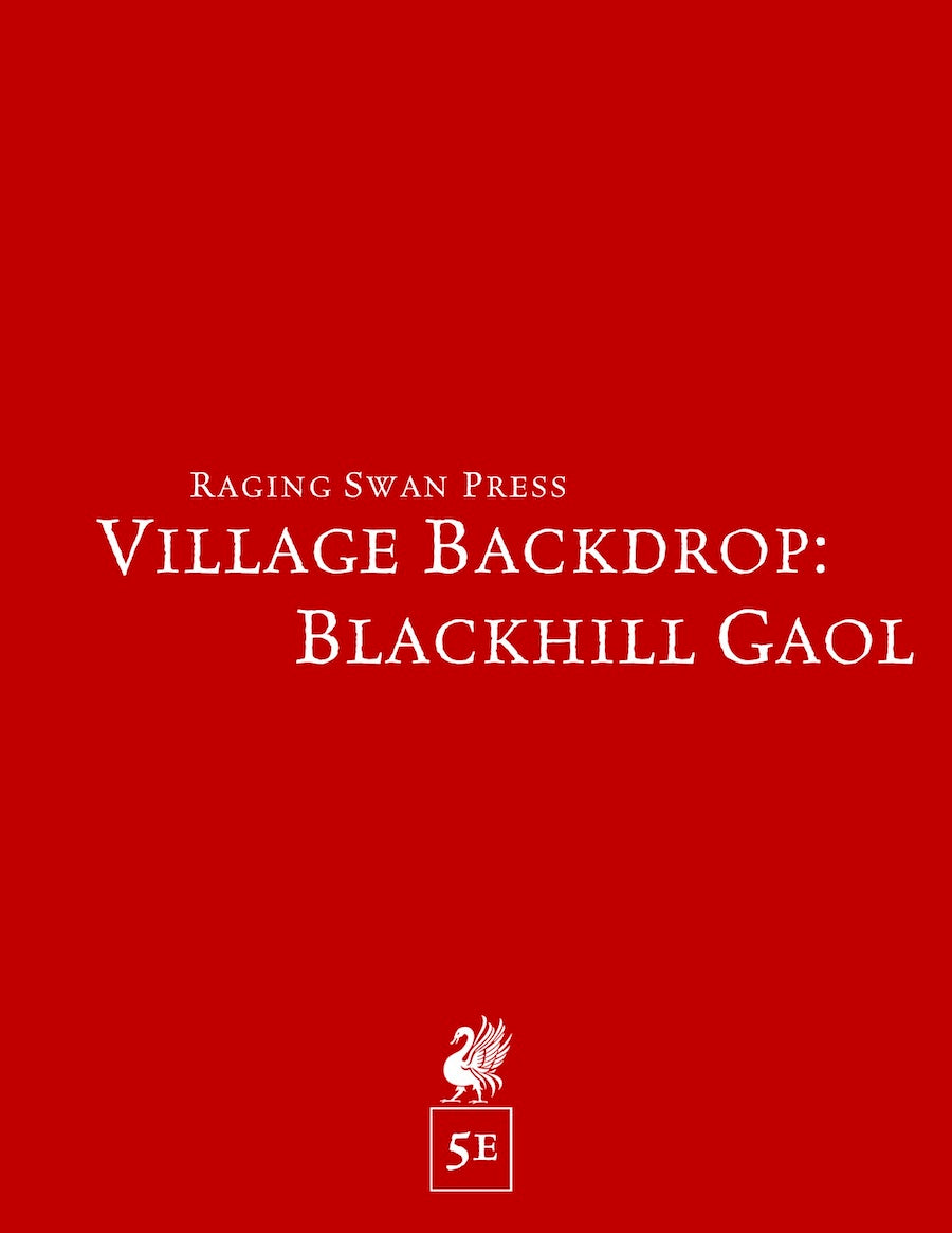 Village Backdrop: Blackhill Gaol (5e)