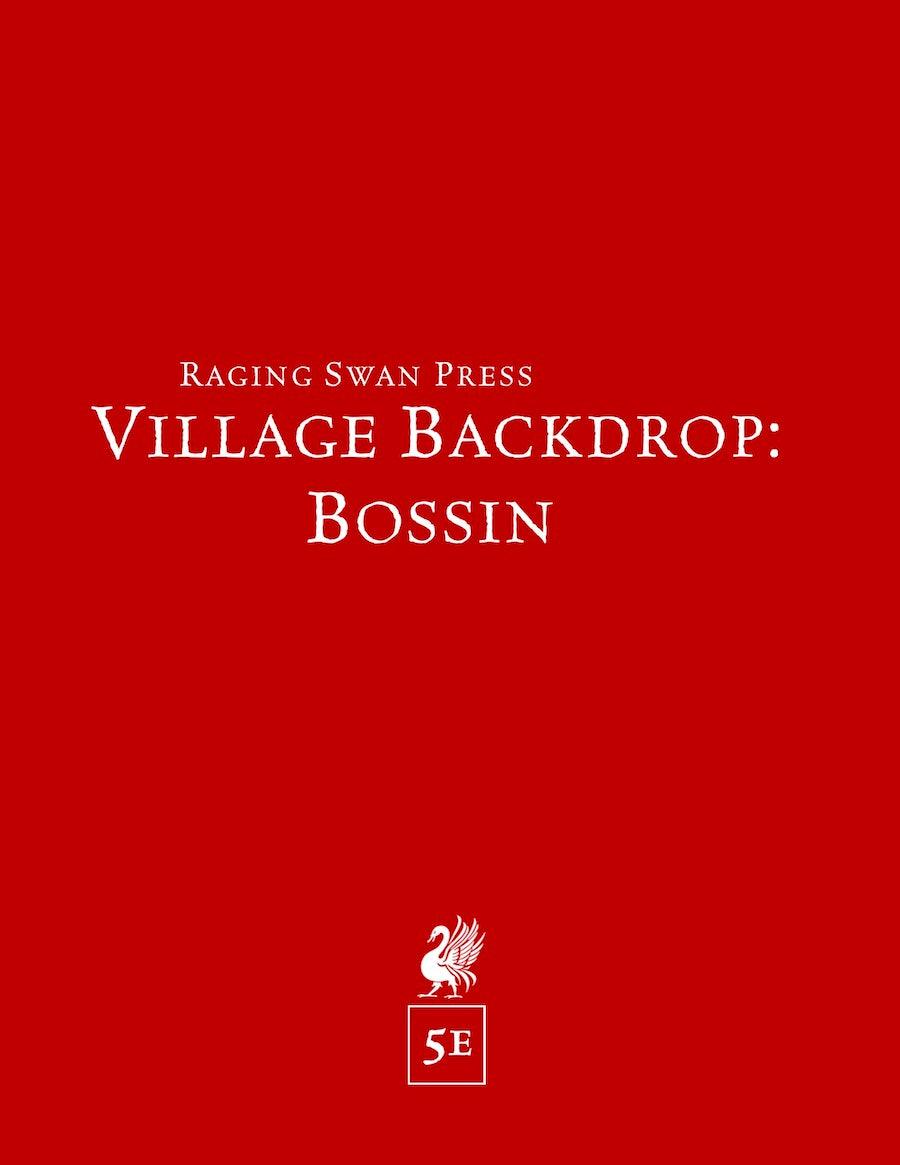 Village Backdrop: Bossin (5e)