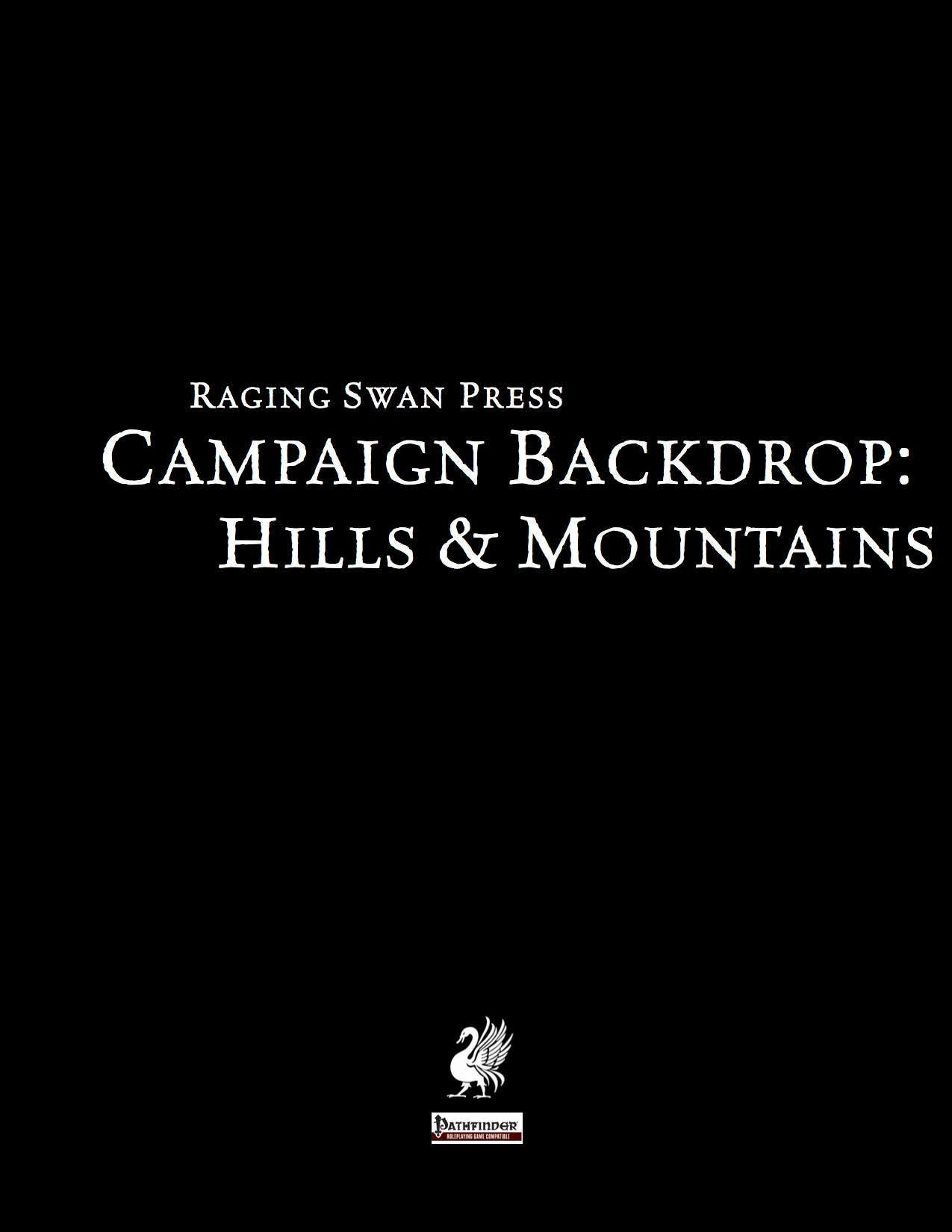 Campaign Backdrop: Hills & Mountains