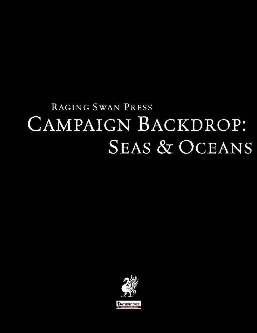 Campaign Backdrop: Seas & Oceans
