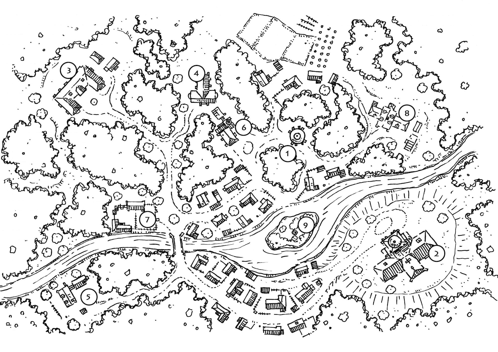 GM's Miscellany: Village Backdrop IV (5e)
