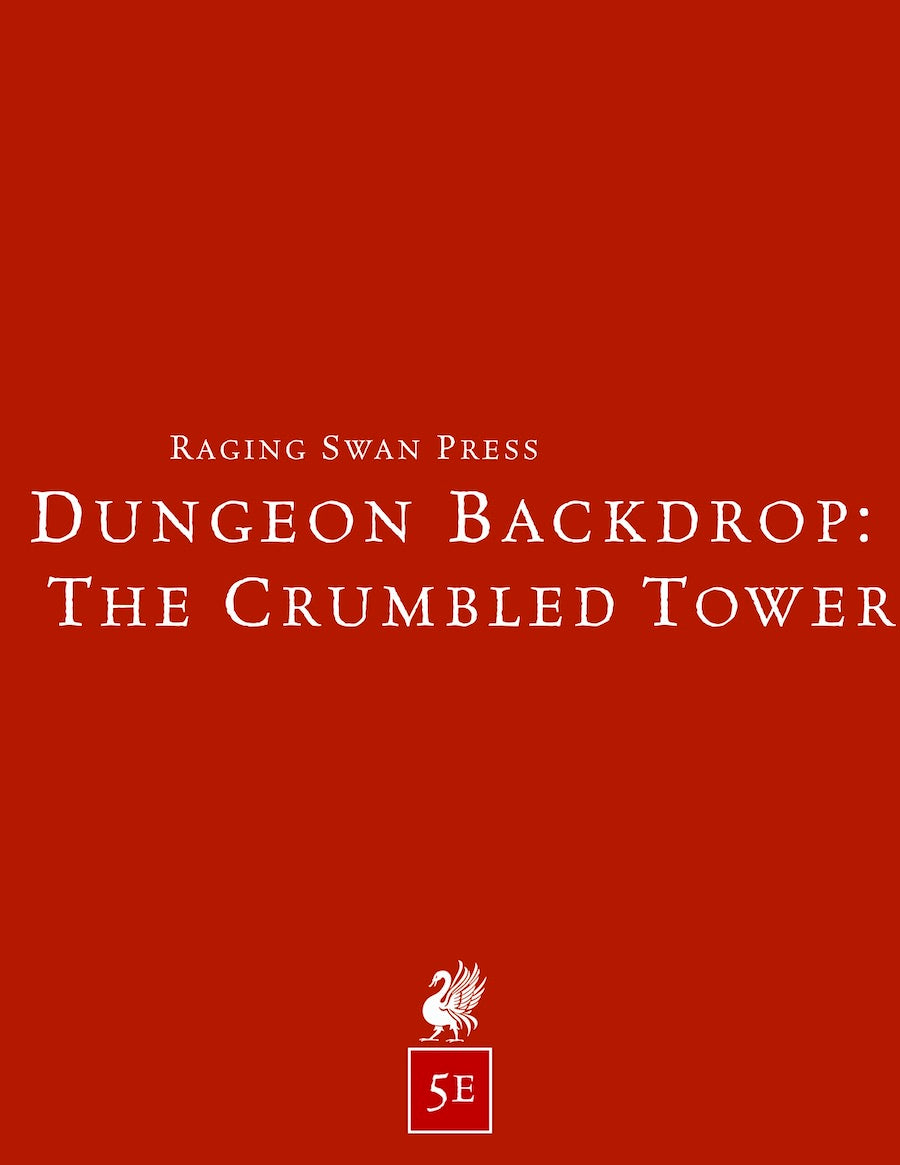 Dungeon Backdrop: The Crumbled Tower (5e)