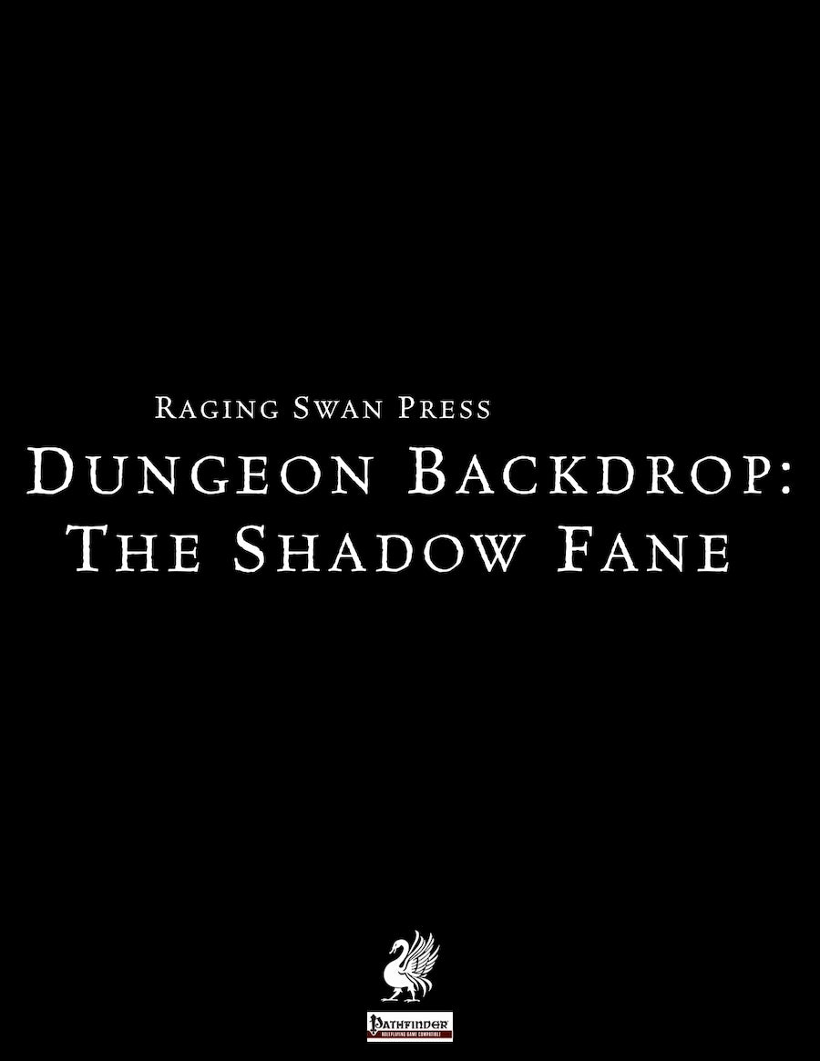 Dungeon Backdrop: The Shadow Fane