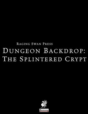 Dungeon Backdrop: The Splintered Crypt