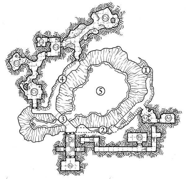Dungeon Backdrop: Delthur's Folly (System Neutral)