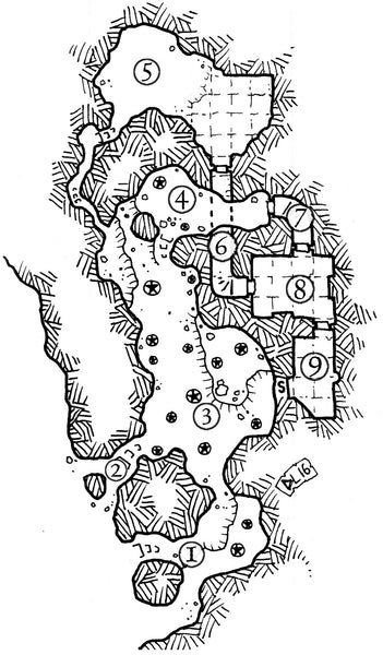 Dungeon Backdrop: Deszraul's Hold (5e)