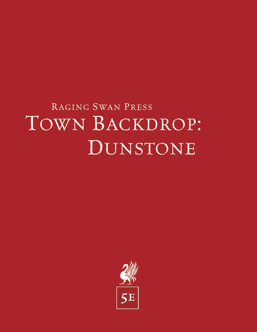 Town Backdrop: Dunstone (5e)
