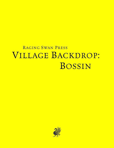 Village Backdrop: Bossin (SNE)