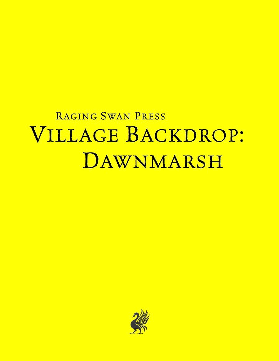 Village Backdrop: Dawnmarsh (SNE)