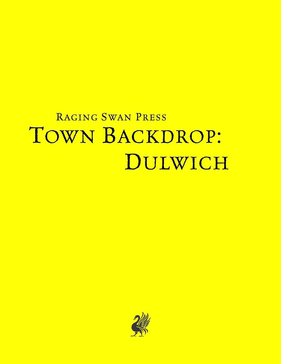 Town Backdrop: Dulwich (SNE)