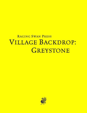 Village Backdrop: Greystone (SNE)