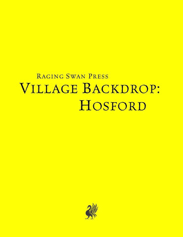 Village Backdrop: Hosford (SNE)