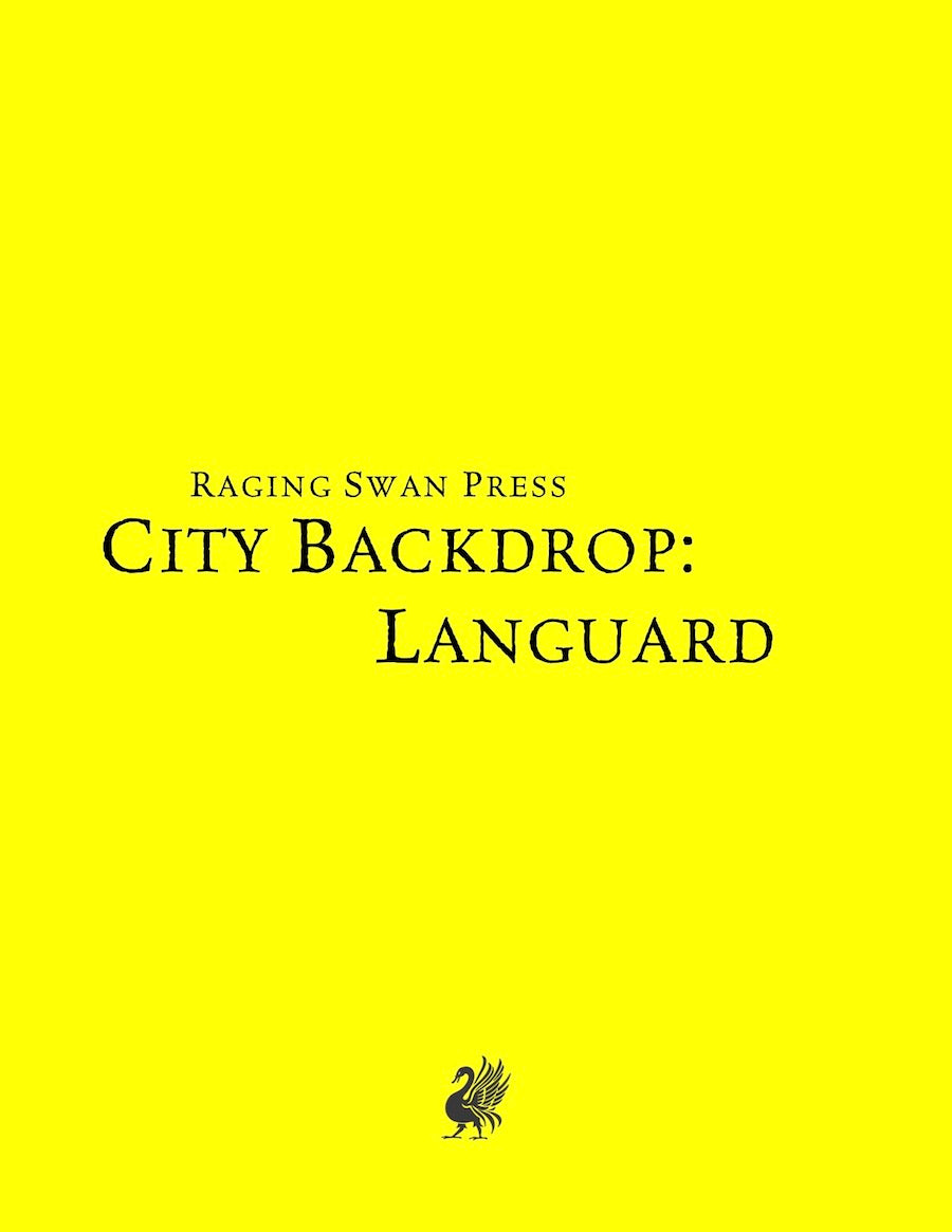 The City of Languard Bundle (System Neutral)