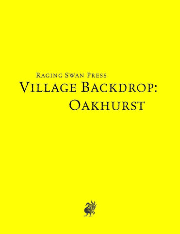 Village Backdrop: Oakhurst (SNE)