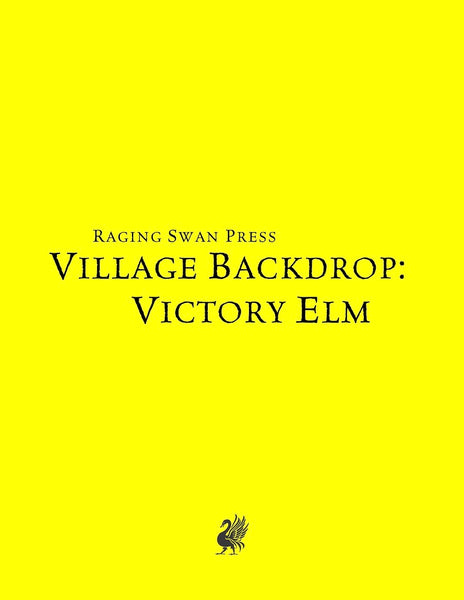 Village Backdrop: Victory Elm (SNE)