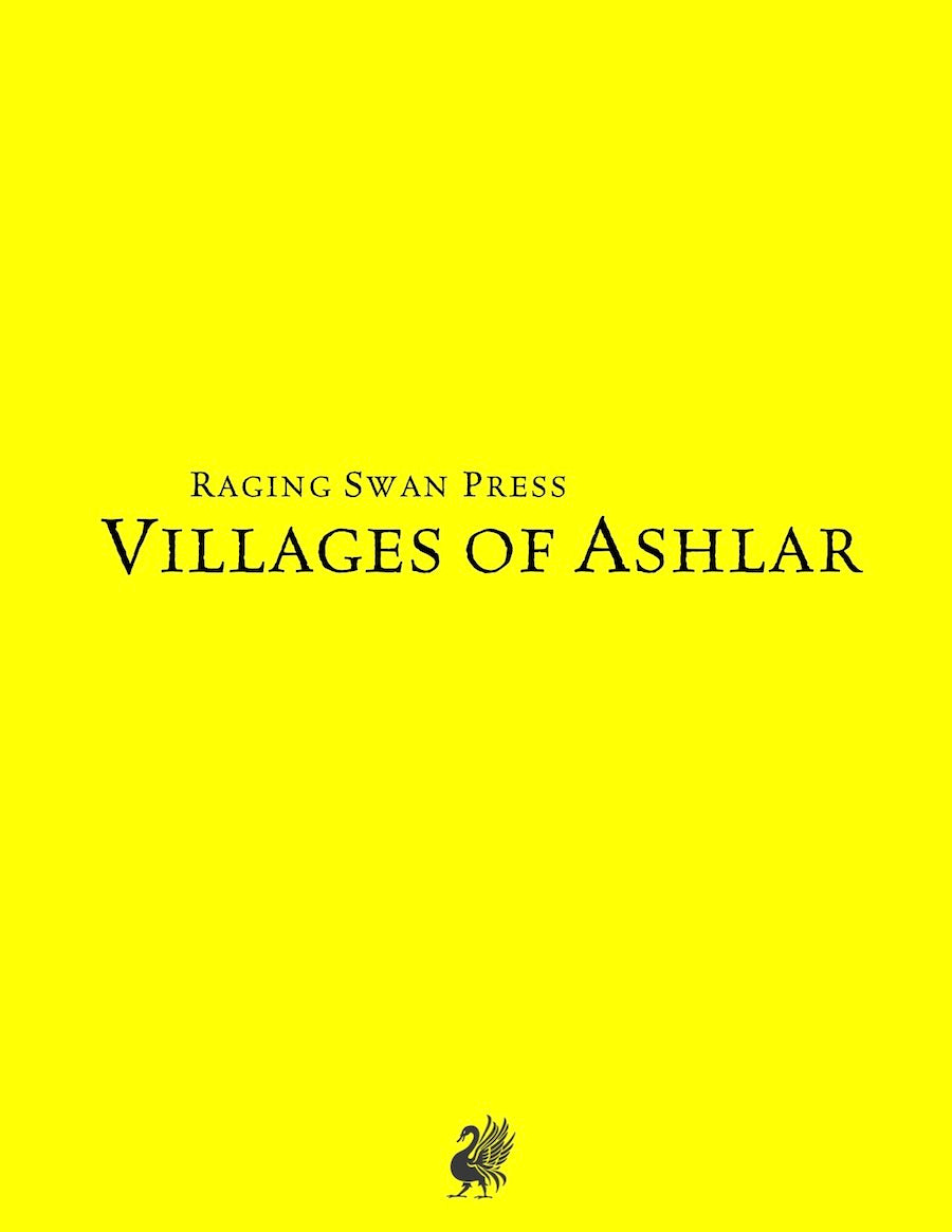 Villages of Ashlar (System Neutral Edition)